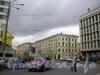Дом 40 по Лермонтовскому пр.у (левая часть здания) и 42 (правая часть здания). Вид от Рижского проспекта.