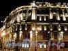 Адмиралтейский пр., д. 4 / Невский пр., д. 1. Ночная подсветка здания. Фото июль 2010 г.
