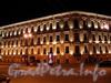 Адмиралтейский пр., д. 10 / Вознесенский пр., д. 2. Общий вид здания в ночной подсветке. Фото июль 2010 г.