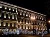 Адмиралтейский пр., д. 10 / Вознесенский пр., д. 2. Фасад по Адмиралтейскому проспекту в ночной подсветке. Фото июль 2010 г.