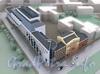 Проект офисно-торгового комплекса со встроенной подземной автостоянкой. Фото с сайта ЛенНИИпроект.
