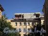 Лиговский пр., д. 13-15. Строительство дворового флигеля. Вид с улицы Радищева. Фото июль 2010 г.