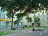 Московский пр., д 66. Сквер перед домом со стороны Московского проспекта. Фото 2010 года.