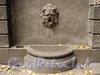 Кронверкский пр., д. 5. Маскарон в виде головы сатира на стене внутреннего двора. Фото октябрь 2010 г.