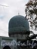 Кронверкский пр., д. 7. Соборная мечеть. Купол. Фото октябрь 2010 г.