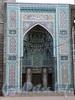 Кронверкский пр., д. 7. Соборная мечеть. Портал. Фото октябрь 2010 г.