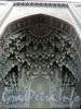 Кронверкский пр., д. 7. Соборная мечеть. Фрагмент портала. Фото октябрь 2010 г.