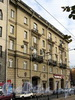 Каменноостровский пр., д. 2. Фасад по Кронверкскому проспекту. Фото октябрь 2010 г.