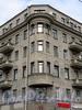 Кронверкский пр., д. 47 / Сытнинская пл., д. 1. Угловой эркер. Фото октябрь 2010 г.