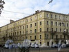 Кронверкский пр., д. 63. Фасады по Кронверкскому проспекту и Съезжинской улице. Фото октябрь 2010 г.