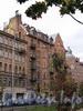 Кронверкский пр., д. 67 / Татарский пер., д. 2. Вид из Александровского парка. Фото октябрь 2010 г.