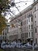 Кронверкский пр., д. 75 / ул. Блохина, д. 1. Фасад по Кронверкскому проспекту. Фото октябрь 2010 г.