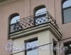 Кронверкский пр., д. 75. Балконное ограждение эркера. Фото октябрь 2010 г.