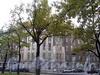 Кронверкский пр., д. 77 / ул. Блохина, д. 2. Общий вид из Александровского парка. Фото октябрь 2010 г.