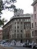 Кронверкский пр., д. 77 / ул. Блохина, д. 2. Фасад по Кронверкскому проспекту. Фото октябрь 2010 г.