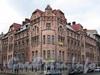 Кронверкский пр., д. 79 / пр. Добролюбова, д. 1. Общий вид углового корпуса. Фото октябрь 2010 г.