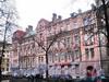 Кронверкский пр., д. 79 / пр. Добролюбова, д. 1 (угловой корпус). Фасад по Кронверкскому проспекту. Фото март 2010 г.