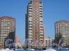 Новоколомяжский пр., 12, корпус 2. Общий вид жилого дома. Фото февраль 2011 г.