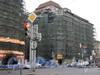 Лиговский пр. д.44, Реставрация фасада здания. Фото 2007 г.