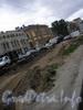 Реконструкция трамвайных путей на Лиговском проспекте на пересечение с Кузнечным переулком.