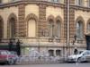 Лиговский пр.62, особняк Ф. К.  Сан-Галли, фрагмент фасада здания. Фото 2006 г.