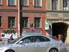 Лиговский пр. д.119, фрагмент фасада здания. Фото 2005 г.