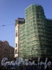 Каменноостровский пр., д. 35, ремонт фасада здания. Фото 2008 г.