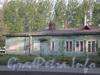 Коломяжский пр., д. 6. Здание билетных касс ж/д станции «Новая деревня». Фото 2008 г.