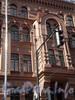 Невский пр., д. 129, фрагмент фасада здания. Фото 2008 г.