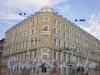 Невский пр., д. 182/ ул. Александра Невского, д. 1, фасад здания после косметического ремонта. Фото 2008 г.