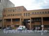 Пр. Обуховской Обороны, д. 38 к. В, фрагмент фасада здания. Фото 2008 г.