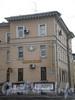 Среднеохтинский пр., д. 23, фрагмент фасада здания. Фото 2008 г.