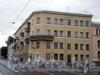 Среднеохтинский пр., д. 28, фрагмент фасада здания. Фото 2008 г.