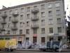 Среднеохтинский пр., д. 51, фрагмент фасада здания. Фото 2008 г.