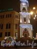 Новогоднее оформление Башни Городской Думы. Декабрь 2008 г.