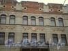 Каменноостровский пр., д. 12. Фрагмент фасада здания. Ноябрь 2008 г.