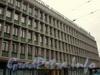 Лермонтовский проспект, д. 44. Фрагмент фасада здания. Октябрь 2008 г.