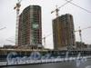 Пр. Просвещения, д. 43. Строительство жилого комплекса «Лондон Парк». Март 2009 г.