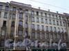 Суворовский пр., д. 34. Фрагмент фасада здания. Апрель 2009 г.