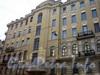 Суворовский пр., д. 49/Заячий пер., д. 1. Фасад здания по Заячьему пер. Апрель 2009 г.