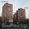 Дома 31, к. 1, 29 и 27 по Тихорецкому проспекту Апрель 2009 г.