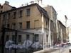 Суворовский пр., д. 53. Дворовый флигель здания со стороны Заячьего пер. Апрель 2009 г.