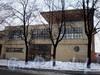 Бол. Сампсониевский пр., д. 45. Фрагмент фасада здания. Февраль 2009 г.
