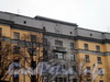 Московский пр., д. 79. Элементы советской символики в оформлении фасада здания. Октябрь 2008 г.