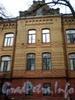Большой пр., В.О., д. 49-51. Здание Александринского женского приюта. Фрагмент фасада здания. Март 2009 г.