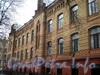 Большой пр., В.О., д. 49-51. Здание Александринского женского приюта. Фасад здания. Март 2009 г.
