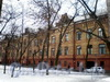 Большой пр., В.О., д. 49-51. Здание Александринского женского приюта. Общий вид здания. Март 2009 г.
