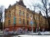 Большой пр., В.О., д. 49-51. Здание Александринского женского приюта. Вид от 14-15 линии В.О. Март 2009 г.