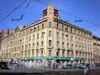 Малый пр. В.О., д. 23 / 8-я линия В.О., д. 73. Бывший доходный дом. Общий вид здания. Апрель 2009 г.