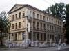 Лермонтовский пр., д. 51.  Вид здания от 12-ой Красноармейской ул. Фото июль 2009 г.